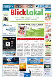 Reha Bad Mergentheim Blicklokal Bad Mergentheim Kw11 2017 By Blicklokal Wochenzeitung