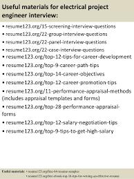 Engineering Resume Sample by Top 8 Electrical Project Engineer Resume Samples