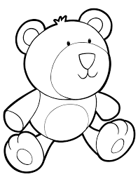 printable pictures teddy bears kids coloring