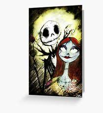 nightmare before greeting cards redbubble
