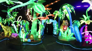 chinese illuminated sculpture blackpool winter gardens youtube
