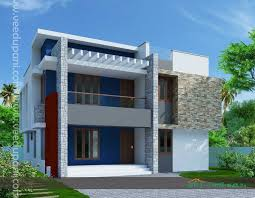 Contemporary Style Kerala Home Design Flat Roof Home Luxury Kerala Design And Floor Plans Modern House