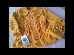 sueter tejido a dos agujas youtube abrigos tejidos en crochet y dos agujas segunda parte youtube