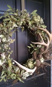 cool wreath with shed antlers by http www danaz home