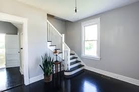 white trim dark wood floors picturespainting timber floor painting