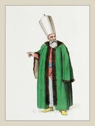Ottoman Officials A Member Of The Divan Ottoman Empire Officials Costume History