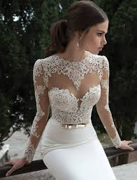Wedding Dress Elegant Lace Open Back Wedding Dress Open Back Straps Classic Embroidered