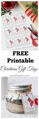 free printable christmas gift tags setting for four