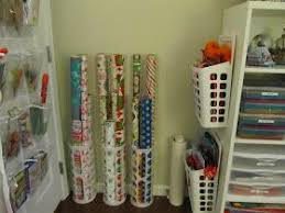 how to store wrapping paper and gift bags best 25 organizing gift bags ideas on gift wrap