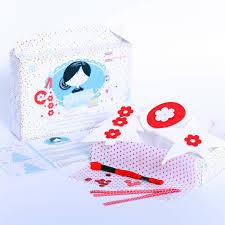 scandi christmas decorations craft kit set by kitty kay u0027make