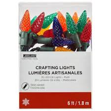 multicolored led c6 lights by celebrate it products