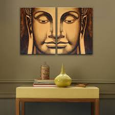 modern buddha head painting promotion shop for promotional modern