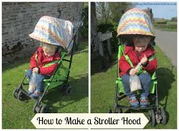 Stroller Canopy Replacement by How To Make A Stroller Hood Tea And A Sewing Machine