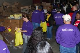 fedex teams up with the washington redskins to deliver