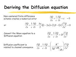 diffusion equation derivation jennarocca