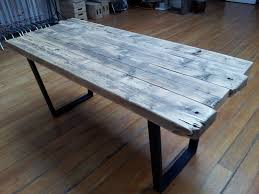 build reclaimed wood office furniture simple desk u2014 home designing