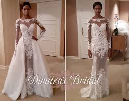 wedding dress with detachable zuhair murad fall 2015 york bridal fashion week dimitra s