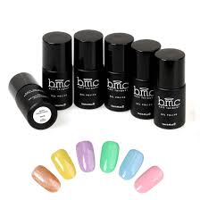 amazon com bmc 6pc creamy soft uv led nail lacquer gel polish