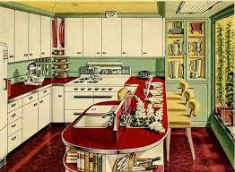 retro kitchen furniture retro kitchen design sets and ideas