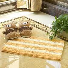 Water Absorbing Carpet by Microfiber Polyester Chenille Living Room Bedroom Mats Anti Slip