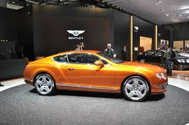 bentley orange bentley continental u003e galerie bentley continental gt orange 2011