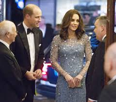 william and kate kate middleton and prince william attend performance after scare