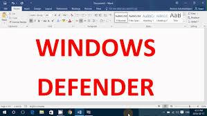 windows 10 defender antivirus test and observations february 2016