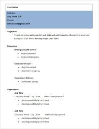 Simple Resume For College Student Simple Resume Examples For College Students Simple Student Resume