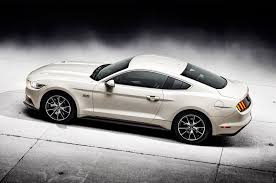 mustang 50 year limited edition 2015 ford mustang 50th anniversary edition motor trend wot
