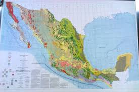 Blank Map Of Mexico by Bruce C Heezen Mapprinter