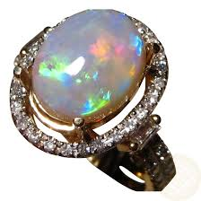 black opal engagement rings semi black opal diamond ring flashopal