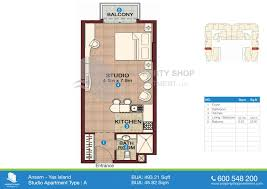 compound floor plans ansam yas island