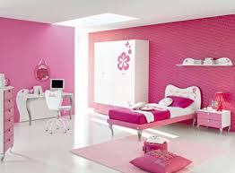 bedroom fetching ideas in pink theme teenage room design