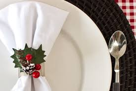 napkin ring ideas christmas craft festive napkin ring ideas the lettered cottage