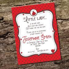 ladybug baby shower invitation plumegiant com
