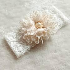 wedding garters bridal garter vintage 1 pair bridal ivory flower wedding garter