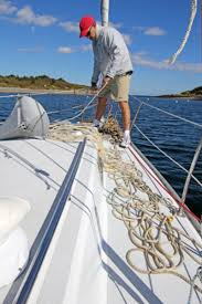 boat anchor manual the lost art of kedging how to set a kedge anchor sail magazine