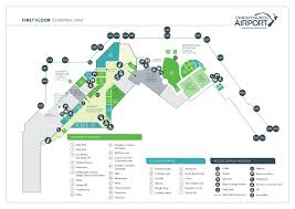 Florida Airport Map Mco Airport Map Las Cruces Map