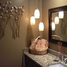 Pendant Lighting In Bathroom Something Similar Pendants And Can Lights Penne Bathroom Light