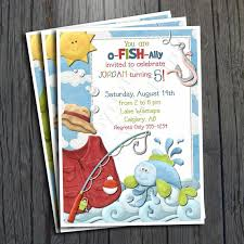 fish birthday invitation free thank you card by foreveryourprints