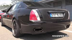 maserati ghibli modified modified maserati quattroporte awesome sound youtube