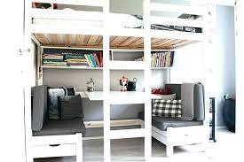 lit mezzanine ado avec bureau et rangement lit mezzanine bureau ado lit mezzanine bureau ado contemporain lit