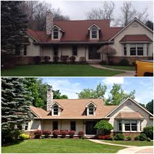 Color House by Here U0027s A Recently Completed Roofing Project In Clarkston Mi