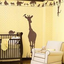 Bedroom Wall Mural Paint Bedroom Surprising Yellow Baby Nursery Room Decoration Using