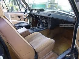 Classic Range Rover Interior 1983 Land Rover Range Rover Classic Car Photo And Specs