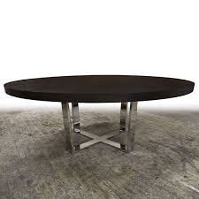 round metal dining room table 72 different base color optoins x metal base ref 1242 round