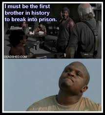 The Walking Meme - image the walking dead season 3 meme tyreese history tdog deadshed