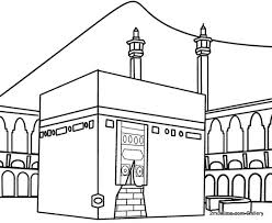 al kaaba coluring pages colouring pages kaaf