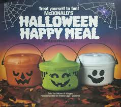 mcdonald u0027s happy meal pails 1989 halloween goodies pinterest