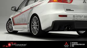 evo mitsubishi logo simraceway mitsubishi lancer evolution x
